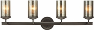 Seagull 4410404EN-715 Sfera Contemporary Autumn Bronze LED 4-Light Vanity Lighting