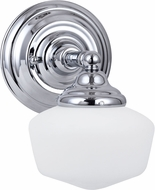 Seagull 44436-05 Academy Chrome Lamp Sconce