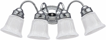 Seagull 4873EN3-05 Brookchester Chrome LED 4-Light Vanity Light Fixture