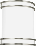 Seagull 4933593S-962 ADA Wall Sconces Modern Brushed Nickel LED Lighting Wall Sconce