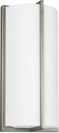 Seagull 4934093S-962 ADA Wall Sconces Contemporary Brushed Nickel LED Wall Lighting Sconce