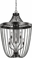 Seagull 5110106EN-846 Kelvyn Park Contemporary Stardust LED 23  Foyer Light Fixture