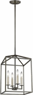 Seagull 5115004EN-782 Perryton Chestnut Bronze LED Foyer Light Fixture