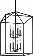 Seagull 5115008EN-839 Perryton Contemporary Blacksmith LED Entryway Light Fixture