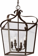 Seagull 5119404-782 Lockheart Heirloom Bronze Foyer Lighting