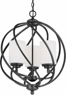Seagull 5125203-839 Goliad Blacksmith Entryway Light Fixture