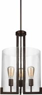 Seagull 5126003-710 Dawes Modern Burnt Sienna Foyer Lighting