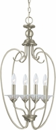 Seagull 51316EN-965 Lemont Contemporary Antique Brushed Nickel LED Foyer Lighting