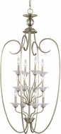 Seagull 51318EN-965 Lemont Contemporary Antique Brushed Nickel LED Foyer Lighting