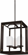 Seagull 5140503EN-71 Chatauqua Modern Antique Bronze LED Entryway Light Fixture