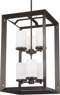 Seagull 5140506EN3-71 Chatauqua Antique Bronze LED Foyer Lighting