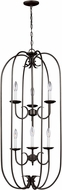 Seagull 51807EN-782 Holman Heirloom Bronze LED Foyer Light Fixture