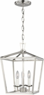 Seagull 5192603EN-962 Dianna Brushed Nickel LED Entryway Light Fixture