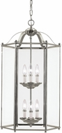 Seagull 5233EN-962 Bretton Brushed Nickel LED Foyer Light Fixture