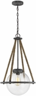 Seagull 6000101-783 Cottage Contemporary Deep Abyss Pendant Lamp
