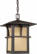 Seagull 60880-51 Medford Lakes Mission Statuary Bronze Exterior Drop Lighting Fixture