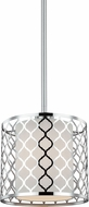 Seagull 6115501-962 Jourdanton Modern Brushed Nickel Mini Pendant Lighting