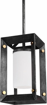 Seagull 6140501-846 Chatauqua Contemporary Stardust Mini Hanging Pendant Light
