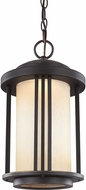 Seagull 6247991S-71 Crowell Antique Bronze LED Exterior 11  Pendant Lamp