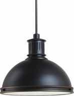 Seagull 65087EN-715 Pratt Street Metal Contemporary Autumn Bronze LED Ceiling Pendant Light