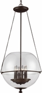Seagull 6511906EN-715 Havenwood Modern Autumn Bronze LED 21  Foyer Light Fixture