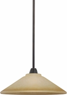 Seagull 6513001EN-845 Parkfield Flemish Bronze LED Drop Lighting Fixture