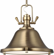 Seagull 6514401EN3-848 Stone Street Modern Satin Bronze LED 13  Drop Lighting