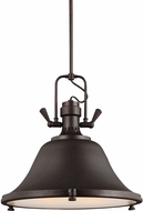 Seagull 6514403-710 Stone Street Nautical Burnt Sienna 21.75  Drop Lighting