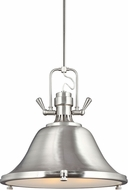 Seagull 6514403-962 Stone Street Nautical Brushed Nickel Drop Ceiling Lighting