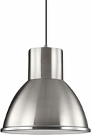 Seagull 6517401-962 Division Street Brushed Nickel Pendant Lamp