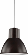 Seagull 6517401EN3-710 Division Street Contemporary Burnt Sienna LED Drop Ceiling Lighting