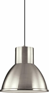 Seagull 6517401EN3-962 Division Street Contemporary Brushed Nickel LED Ceiling Pendant Light