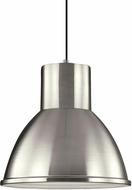 Seagull 6517493S-962 Division Street Contemporary Brushed Nickel LED Pendant Lighting