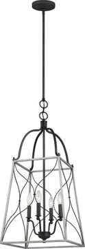 Seagull 6531504-808 Carra White Wash Medium Foyer Lighting