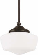 Seagull 65436-782 Academy Heirloom Bronze Small Lighting Pendant