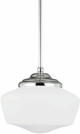 Seagull 65437-05 Academy Chrome Medium Pendant Lighting Fixture