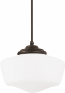 Seagull 65437-782 Academy Heirloom Bronze Medium Hanging Pendant Lighting