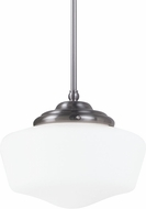 Seagull 6543891S-962 Academy Brushed Nickel LED Large Lighting Pendant
