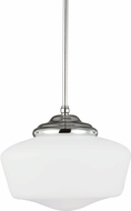 Seagull 65438EN-05 Academy Chrome LED Drop Lighting Fixture