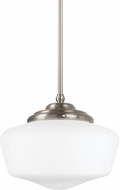 Seagull 65438EN-962 Academy Brushed Nickel LED Pendant Light