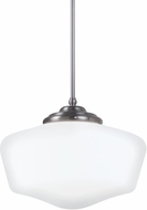 Seagull 6543991S-962 Academy Brushed Nickel LED Extra Large Hanging Light Fixture