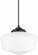 Seagull 65439EN-782 Academy Heirloom Bronze LED Pendant Lamp