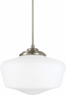 Seagull 65439EN-962 Academy Brushed Nickel LED Hanging Lamp