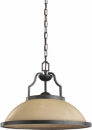 Seagull 65520EN-845 Roslyn Flemish Bronze LED Hanging Light