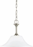 Seagull 65806EN-962 Holman Brushed Nickel LED Ceiling Light Pendant