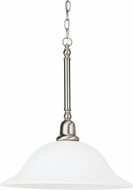Seagull 66060EN-962 Sussex Brushed Nickel LED Drop Lighting Fixture