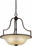 Seagull 6610603-191 Trempealeau Roman Bronze Pendant Lighting