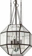 Seagull 6634404-782 Lazlo Modern Heirloom Bronze Hanging Pendant Light