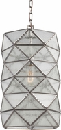 Seagull 6641401EN-965 Harambee Modern Antique Brushed Nickel LED Hanging Lamp