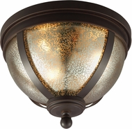 Seagull 7510403EN-715 Sfera Modern Autumn Bronze LED Ceiling Light Fixture